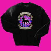Crew Neck with Pink Logo