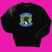 Crew Neck with Pit Bull Head Logo