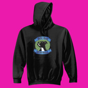 Youth Pullover Hoodie with Pit Bull Head Logo