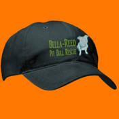 Bella Reed embroidered cap